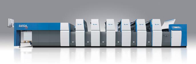 Neue Druckmaschine KBA75-5+L ALV2